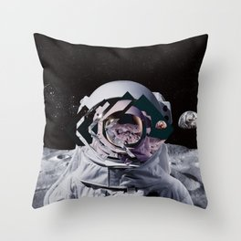 Spaceman oh spaceman Throw Pillow