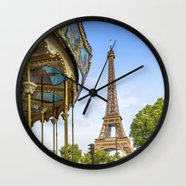Typical Paris Wall Clock