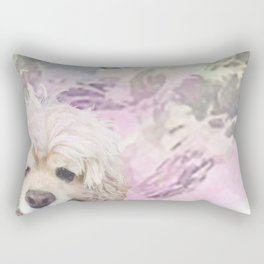 Snow Dog (for Philippa) Rectangular Pillow