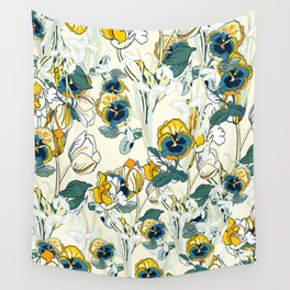 vintage floral pattern 3 Wall Tapestry