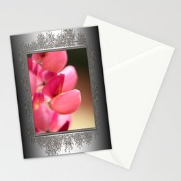 Lupine named Gallery Red Stationery Cards
