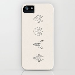 Animals of the Realm iPhone Case
