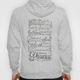 Phoenix Series, Poem in English (Part 2 0f 3) Hoody