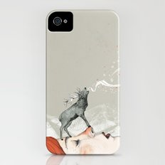 Deer Lady! iPhone (4, 4s) Slim Case