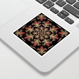 Turkish tulip - Ottoman tile 3 Sticker