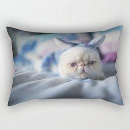 a case of Mistaken Identity Rectangular Pillow