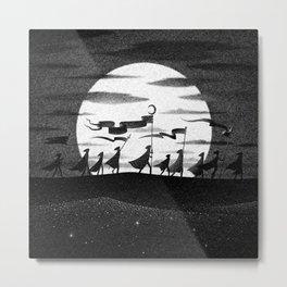 Drawlloween 2015: Moon Metal Print