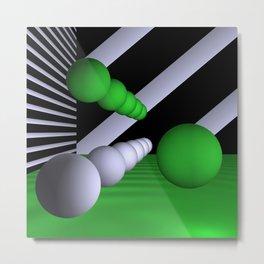 3D-geometry -7- Metal Print