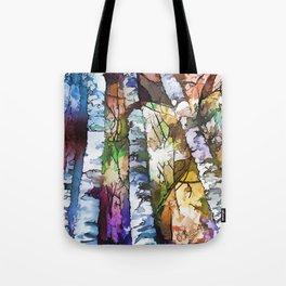 Aspen Trees Tote Bag