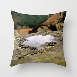 Mountain Pool Throw Pillow