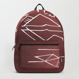 Come Holy Spirit christian illustration Backpack