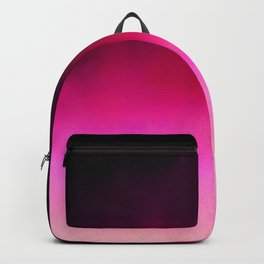Purple and Black Abstract Backpack