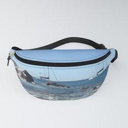 Sailing Boats at the Baths, BVI Fanny Pack