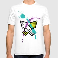 Splatoon - Turf Wars 3 Mens Fitted Tee White SMALL