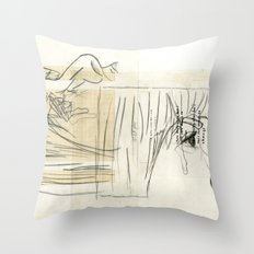 10 p.m. Throw Pillow