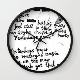 NewYork II Wall Clock