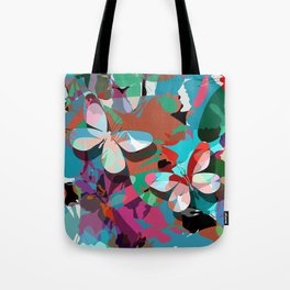 Butterfly abstract design Tote Bag
