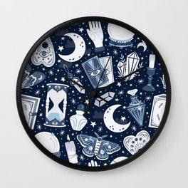 Dark Mystical Wall Clock