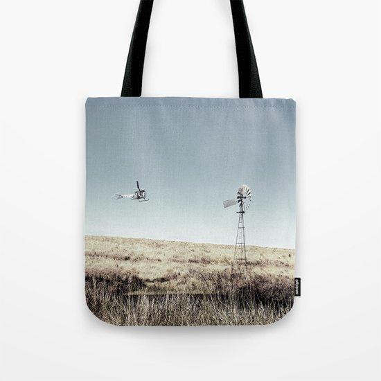 Dustoff downunder - Villenvue, QLD Tote Bag