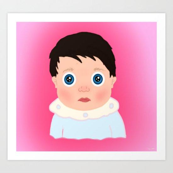 Baby... Art Print