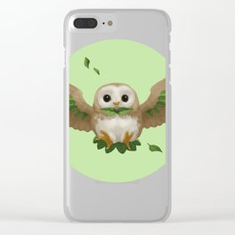 Rowlet Clear iPhone Case