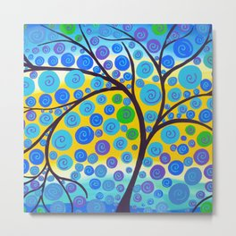 green tree of life Metal Print