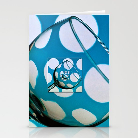 Glass within a glass within .......... Stationery Cards