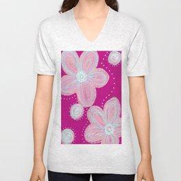 Pinked Unisex V-Neck