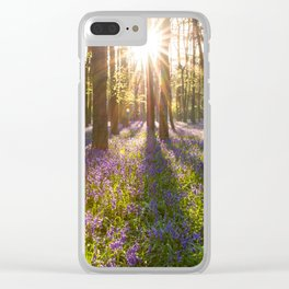 Spring in the Forest Clear iPhone Case