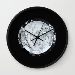 Silver Kiss II  Wall Clock