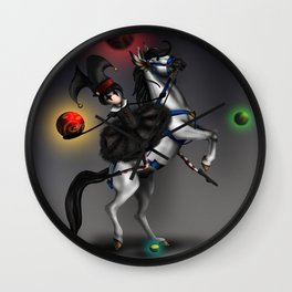 At The Carnivale Wall Clock
