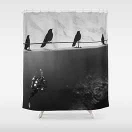 IN SEARCH OF... Shower Curtain