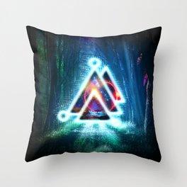 Prisma Delta Illumination Throw Pillow