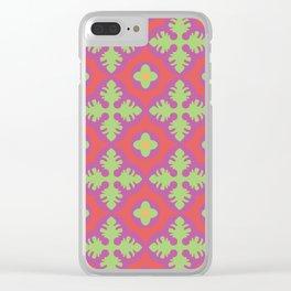 Native pattern Clear iPhone Case