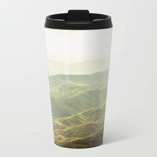 Smoky Mountain Sunshine Metal Travel Mug