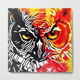 OWL SOUL Metal Print