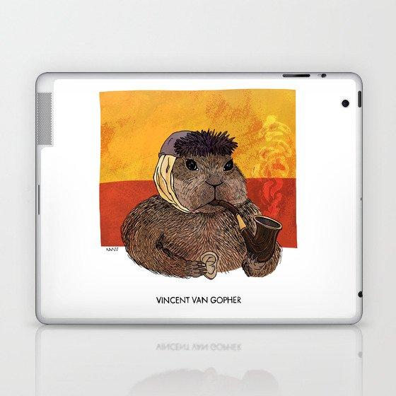 Vincent van Gopher Laptop & iPad Skin