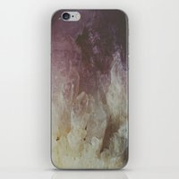 crystal iPhone & iPod Skins featuring Crystal by Neon Wildlife