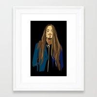 gangster Framed Art Prints featuring Gangster by Elena Medero