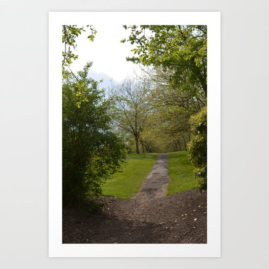 sefton park part 2 Art Print