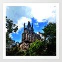 Hogwarts by calebblank