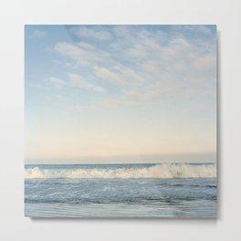 Waves at Pismo Beach Metal Print