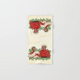 Phil & Judy (White Christmas) Hand & Bath Towel