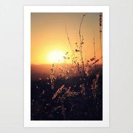 Sunset in Payson II Art Print