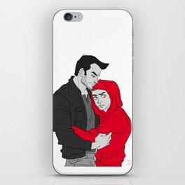 Sterek - I'll protect you iPhone Skin