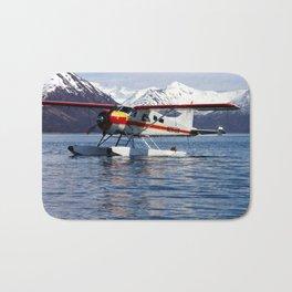 Beaver Float Plane Photography Print Bath Mat