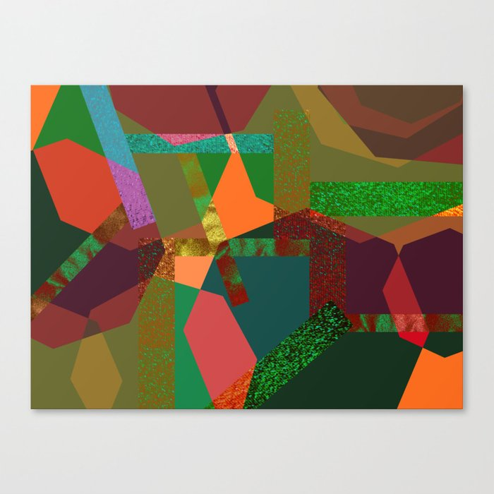 MOTLEY N1 Canvas Print