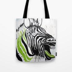 Zebra Streetstyle Tote Bag