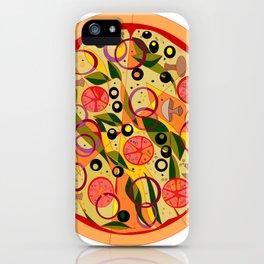A Veggie Pizza, my Favorite iPhone Case