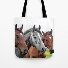 Wonderful Horses Tote Bag